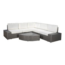 Sirmans 6 Piece Deep Seating Group with Cushion