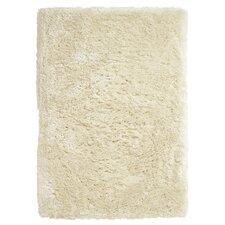 Handgefertigter Teppich Polar in Creme