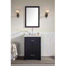 """Adams 25"""" Single Sink Vanity Set with Mirror"""