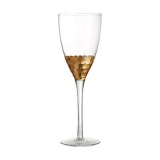 Daphne Gold All-Purpose Wine Glass (Set of 4)