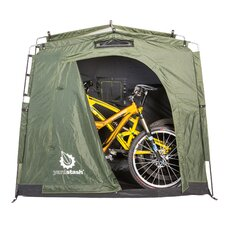 The YardStash III 6.17 ft. W x 2.5 ft. D Plastic Portable Bike Shed