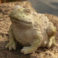 Garden Décor Croak Toad Statue