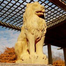 Garden Décor Lion Guard Statue