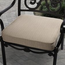 Outdoor Sunbrella Dining Chair Seat Cushion