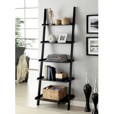 "Topsail 75"" Leaning Bookcase"