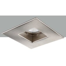 "Square Adjustable Baffle 4"" LED Recessed Trim"