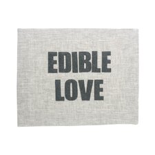"""Edible Love"" Placemat"