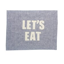 """Let's Eat"" Placemat"
