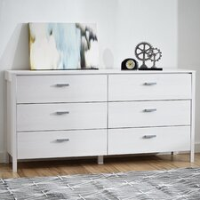 Lorraine 6 Drawer Dresser