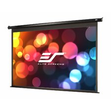 VMAX2 Series White Electric Projection Projector Screen