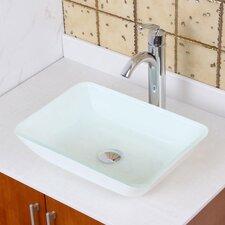 Elite Double Layered Rectangular Vessel Bathroom Sink