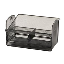 Mesh Telephone Stand in Black
