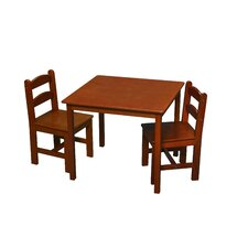 Kids' 3 Piece Writing Table and Chair Set