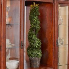 "Boxwood Spiral 36"" Faux Tree"