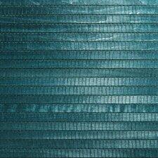 "Zen Kando Grasscloth 24' x 36"" Stripe Wallpaper"