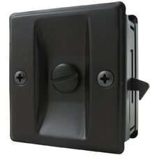 Square Pocket Door Lock