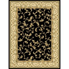 Calley  Black Area Rug