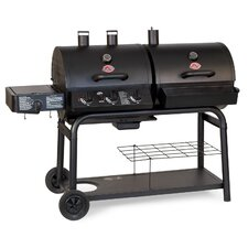 3-Burner Propane Gas Grill with Side Burner