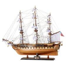 Medium USS Constitution Model Boat