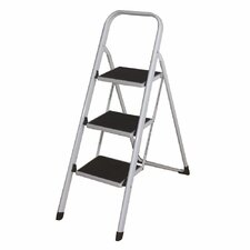 2.33 ft Aluminum Folding Lightweight Step Ladder with 280 lb. Load Capacity