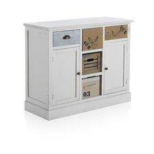 2 Door 5 Drawer Cabinet