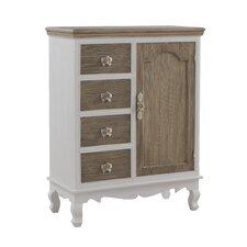 1 Door 4 Drawer Combi Cabinet