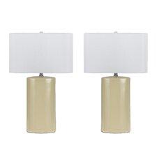 "Minorca 3 Way 27"" Table Lamp (Set of 2)"