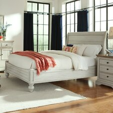 Cottage Sleigh Bed