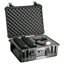 "Equipment Case with Foam: 16.88"" x 20.63"" x 8.13"""