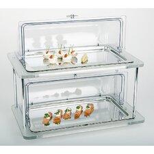 Doppeldecker Buffet Display Case Set