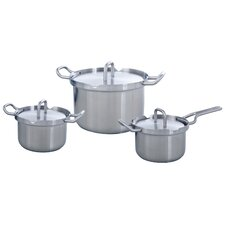 Q-Linair Master 3-Piece Cooking Pot Set