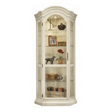 ColorTime Panorama Corner Curio Cabinet