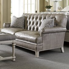 Oyster Bay Hillstead Leather Sofa