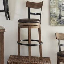 "Empire 30.25"" Swivel Bar Stool"