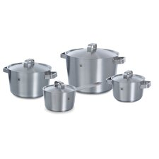Conical+ 4 Piece Stainless Steel Cookware Set