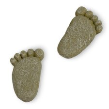 Mini Feet Fairy Garden Stepping Stones (Set of 2)