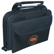 Buffalo Case Company Sewn Tool Case in Black:7.38 x 10.5 x 2