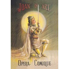 'Joan of Arc: Opera Comique' Painting Print