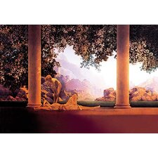'Daybreak' by Maxfield Parrish Painting Print
