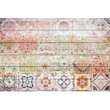 'Settat 2' by Parvez Taj Painting Print on White Wood