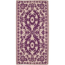 Decorative Purple Area Rug