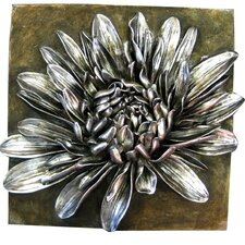 Wanddekoration Chrysantheum