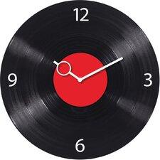 Analoge Wanduhr Time Art Disk 30 cm