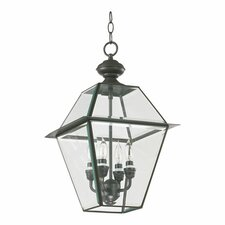 Duvall 4-Light Outdoor Hanging Lantern