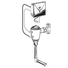 Concealed 1.0 GPF AC Urinal Flush Valve with Back Spud