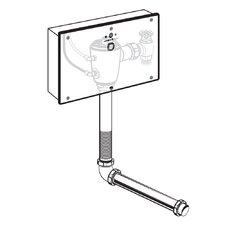 Concealed 1.6 GPF AC Wrist Blade Flush Valve with Back Spud