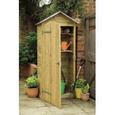3 Ft. W x 2 Ft. D Wooden Tool Shed