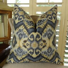 Rhythm Waves Double Sided Throw Pillow