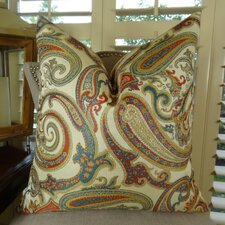 Paisley Cove Throw Pillow