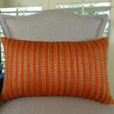 Tied Rows Double Sided Lumbar Pillow